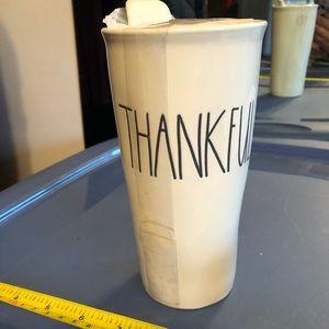 Rae Dunn Thankful travel mug